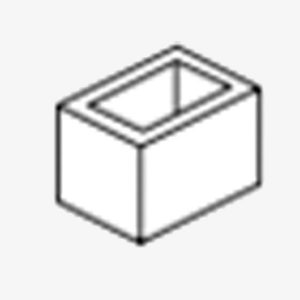 Block Concrete 290x190x190 20.02/30.03